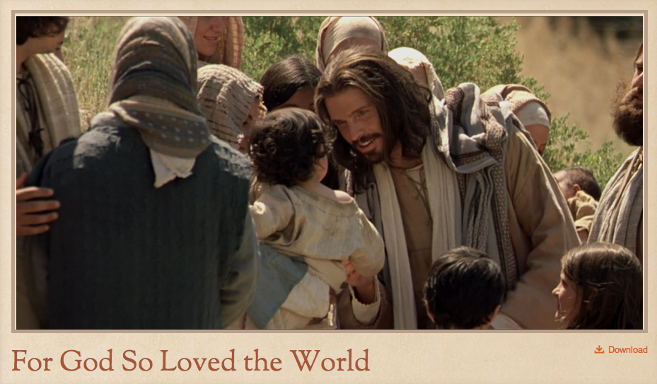 Click here to watch a short film about the life and teachings of Christ